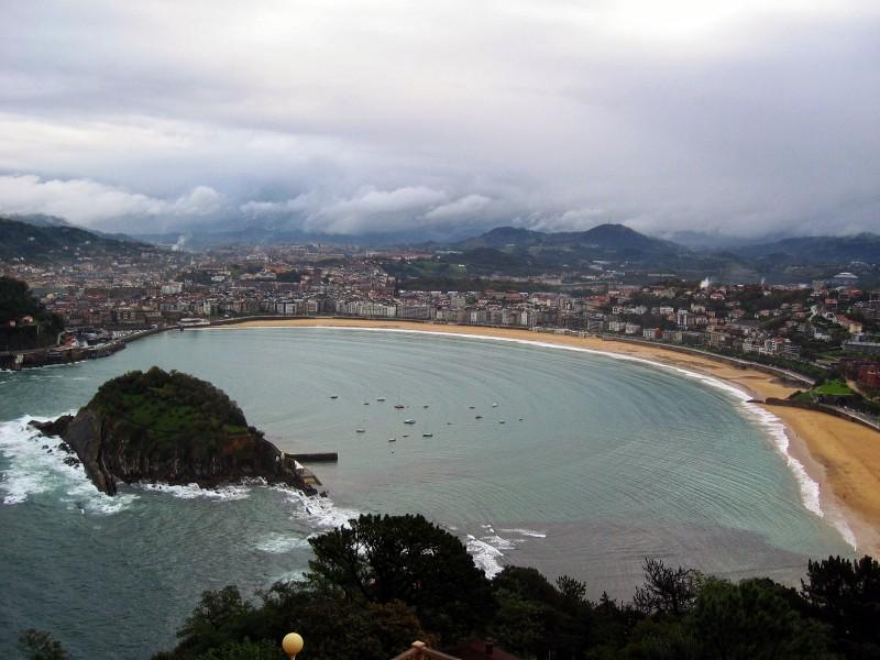 San Sebastian, Spain (image: Pixabay)