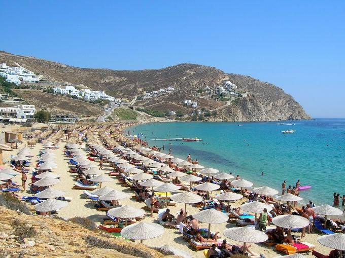 Elias Beach, Mykonos (image: Pixabay)