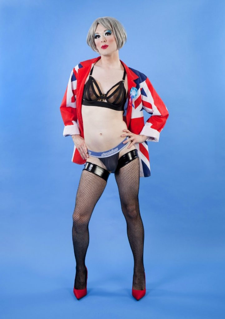 Fagulous presents Theresa May's Legs Akimbo (image supplied)