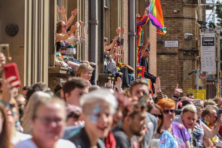 Manchester Pride 2018 (image courtesy of Manchester Pride)