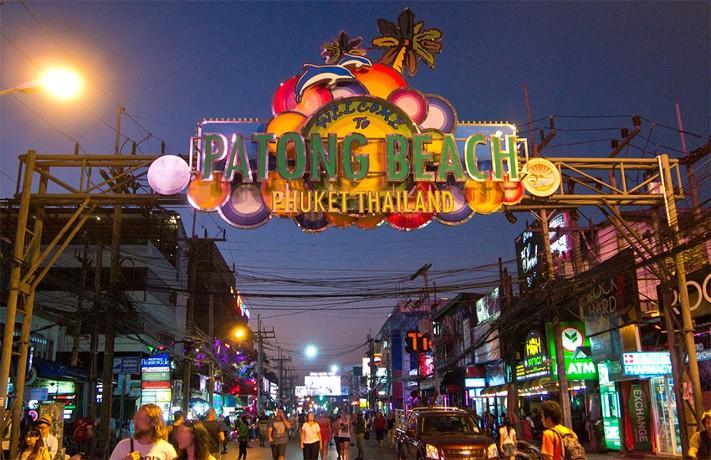 Patong Beach, Phuket, Thailand. Image published via Wikipedia