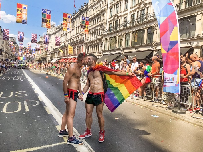 The Nomadic Boys at London Pride (image supplied)