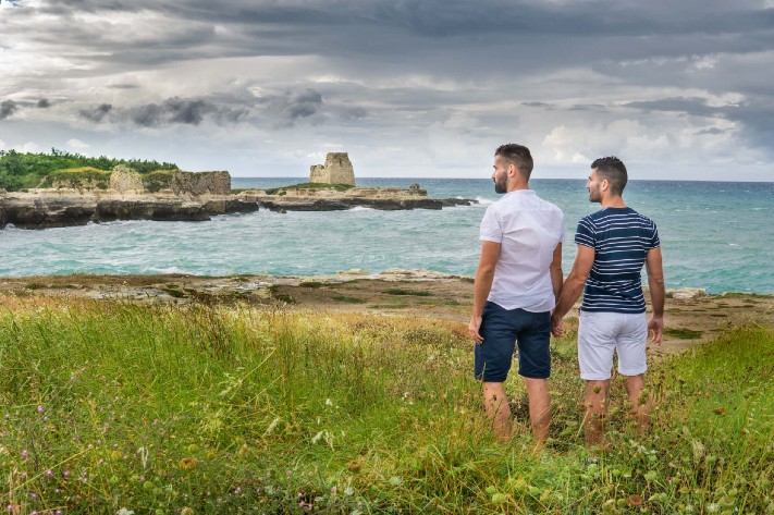 The Nomadic Boys in Puglia (image supplied)