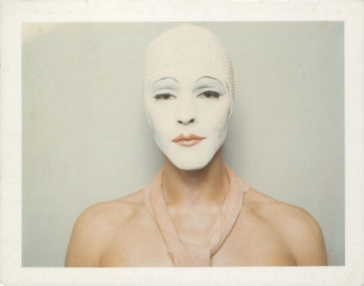 ULAY. Renais sense (White Mask), 1974/2014. Giclee print. 94 x 74 cm. Private collection, London