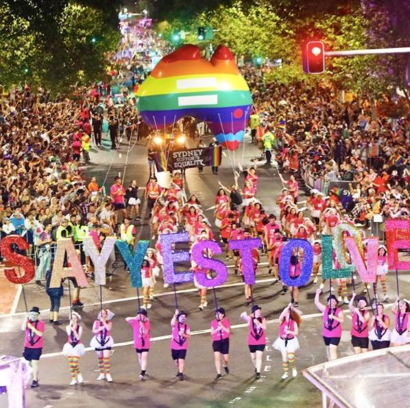 Sydney Gay and Lesbian Mardi Gras Photo by @sydneymardigras published via Instagram