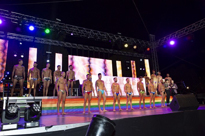 The contestants of Mr Gay Pride Maspalomas 2018 (image supplied)