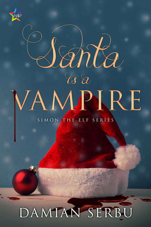 Santa is a Vampire by Damian Serbu (image supplied)